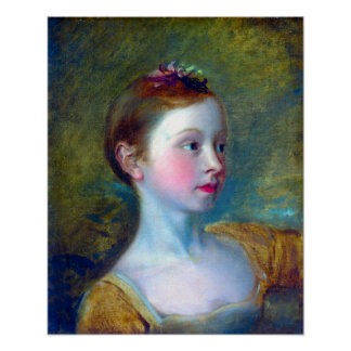 Copy after Thomas Gainsborough Painter's Daughter Poster