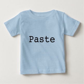 "Copy and Paste for Twins ""PASTE"" Baby T-Shirt"