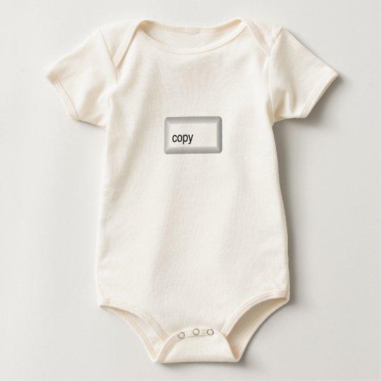 copy baby bodysuit
