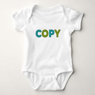 COPY - Copy & Paste for Twins Baby Bodysuit