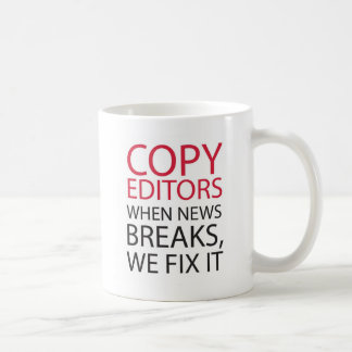 Copy Editors Coffee Mug