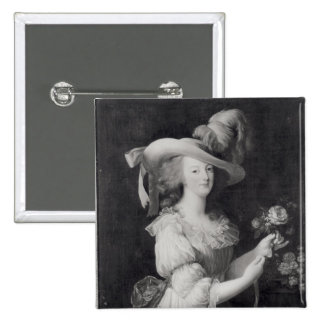Copy of a Portrait of Marie-Antoinette 2 Inch Square Button