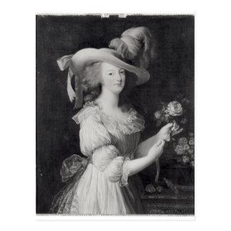 Copy of a Portrait of Marie-Antoinette Postcard