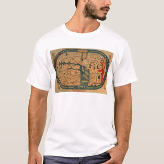Copy of an 8th century Beatus mappamundi T-Shirt
