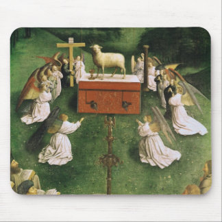 Copy of The Adoration of the Mystic Lamb Mouse Pad