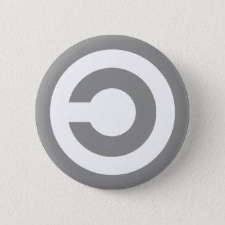 Copyleft 2 Inch Round Button