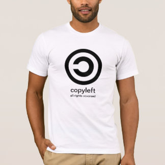 Copyleft. All rights reserved T-Shirt