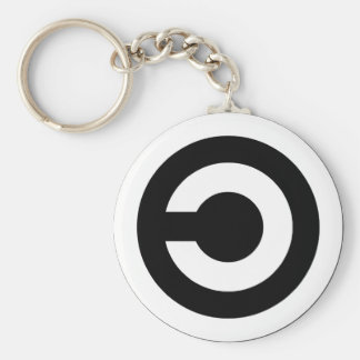 Copyleft - information wants to be free key chains