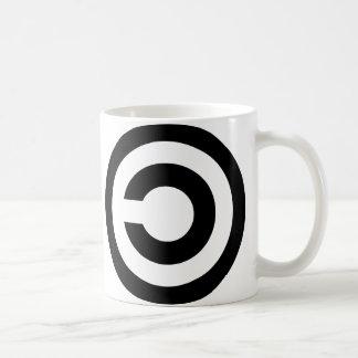 Copyleft - l information veut être libre tasse à café