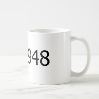 Copyright 1948 coffee mug