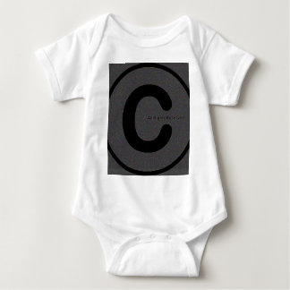 Copyright your stuff #2 baby bodysuit