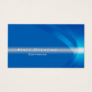 Copywriter Business Card Light Stream