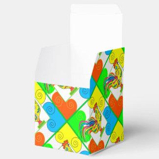 COQ CHICKEN CARTOON Classic 2x2 Party Favor Box