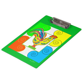 COQ CHICKEN PEACE CARTOON  Clipboard