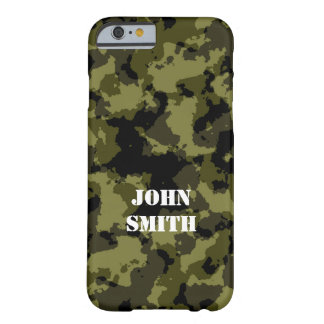 Coque Barely There iPhone 6 Motif militaire de style de camouflage