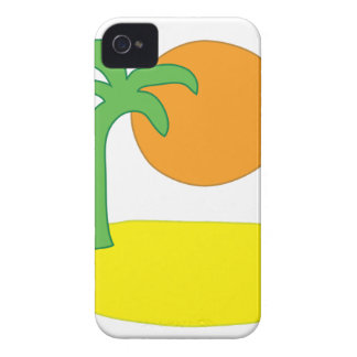 Coque Case-Mate iPhone 4 Dessin d'île