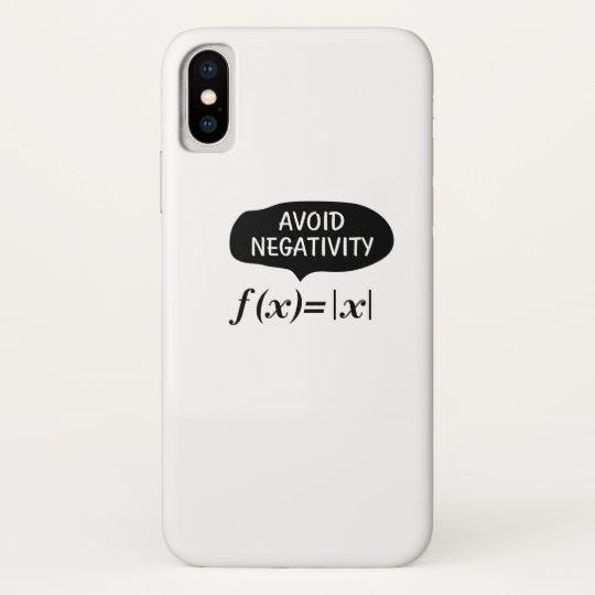Coque Case-Mate Pour iPhone Drôle évitez l'étudiant nerd de geek de maths de