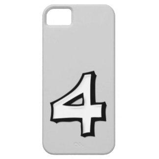 Coque-Compagnon idiot de l'iPhone 5 de blanc du nu Étuis iPhone 5