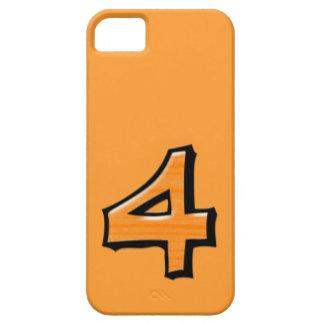 Coque-Compagnon idiot de l'iPhone 5 d'orange du Étuis iPhone 5