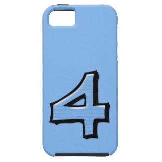 Coque-Compagnon idiot Tough™ de l'iPhone 5 de bleu Coque iPhone 5