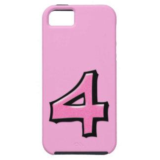 Coque-Compagnon rose Tough™ de l'iPhone 5 du Coque iPhone 5
