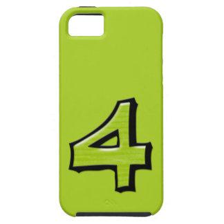 Coque-Compagnon vert Tough™ de l'iPhone 5 du Coques iPhone 5