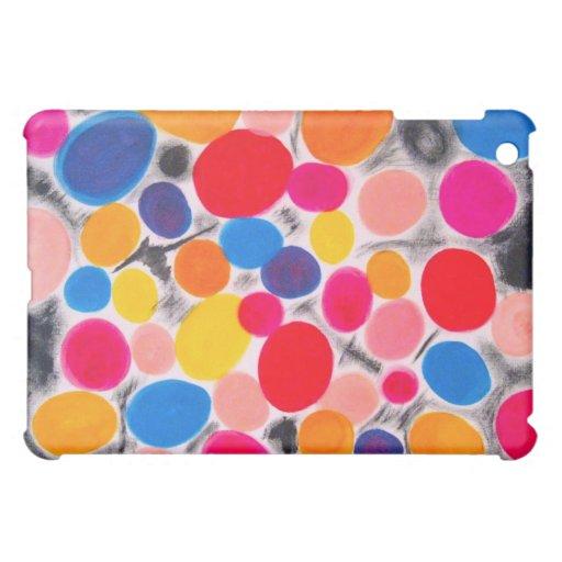Coque ipad avec des bulles RegiaArt de couleurs