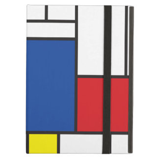 Coque ipad minimaliste de coutume d'art de
