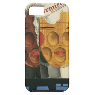 Coque iPhone 5 Case-Mate affiche française originale 1929 d'art déco de