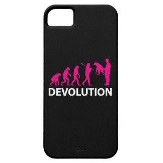 Coque iPhone 5 Case-Mate Devolution Evolution Funny Reissue