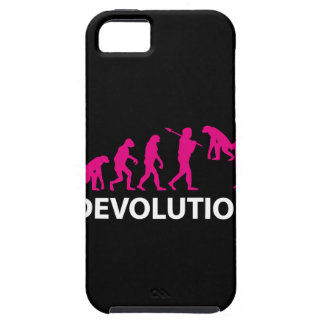 Coque iPhone 5 Devolution Evolution Funny Reissue