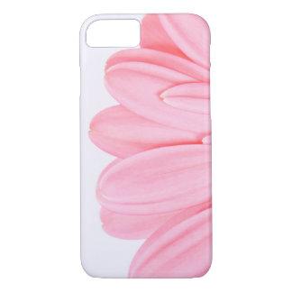 Coque iPhone 7 Pétale rose de Gerbera