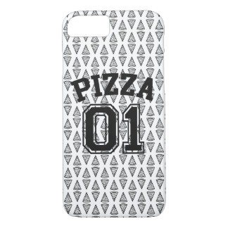 Coque iPhone 7 Pizza Pattern Mariez