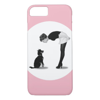 Coque iPhone 8/7 Chica connectée