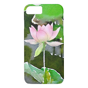 coque iphone 8 fleur de lotus