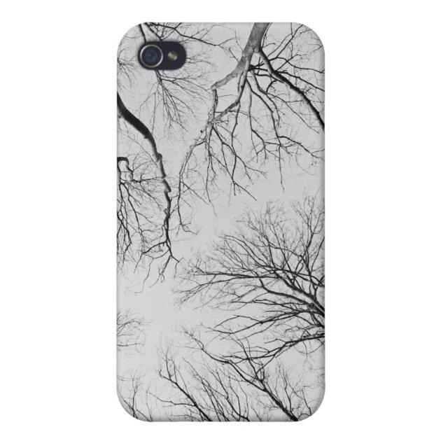 Coque iPhone Arbres sans feuilles en bois de Thiepval   Zazzle.ca