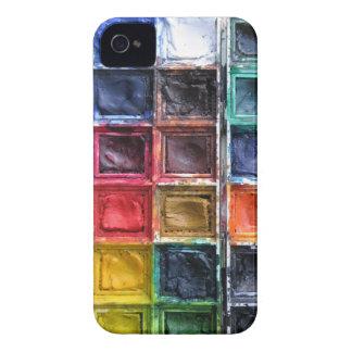 Coque iphone d'aquarelle pour un artiste