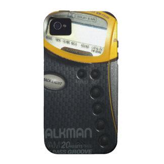 Coque iphone de baladeur de vieille école coque iPhone 4
