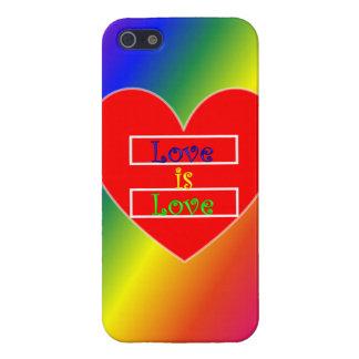 Coque iphone d'égalité de mariage iPhone 5 case