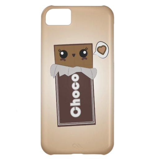 Coque iphone mignon de barre de chocolat coques iPhone 5C