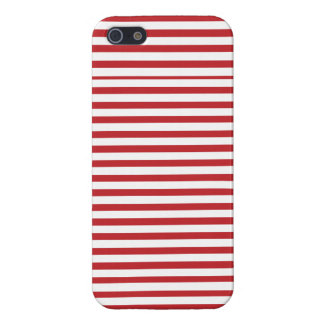 coque iphone rayé nautique rouge coques iPhone 5