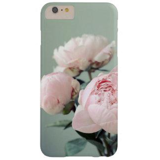 Coque iphone rose de fleurs de pivoines - 17877 coque barely there iPhone 6 plus