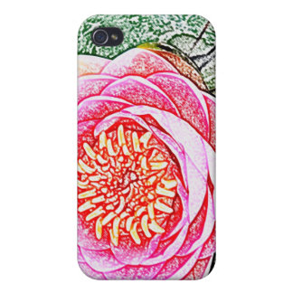 Coque iphone rose de Lotus - cadeau unique de yoga Coques iPhone 4