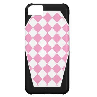 Coque iphone (rose) d'ivoire de Damier Étui iPhone 5C