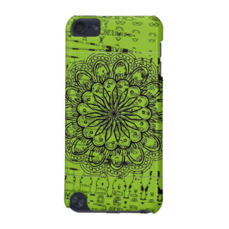 Coque iPod Touch 5G Caisse verte abstraite lumineuse