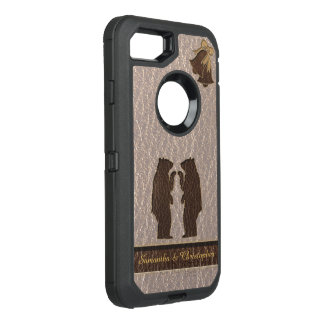 Coque OtterBox Defender iPhone 8/7 Mariage simili cuir doux