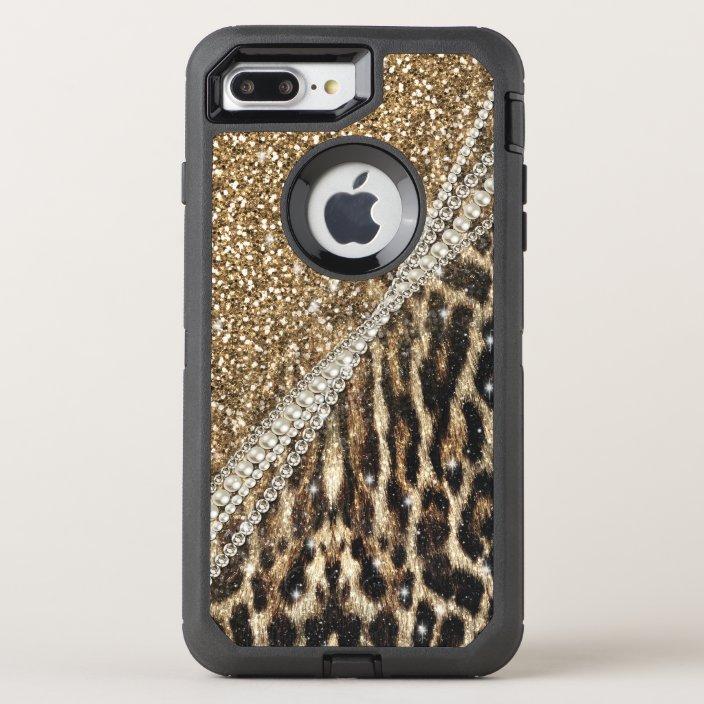 Coque OtterBox Pour iPhone Copie animale de fourrure de faux de beau léopard | Zazzle.ca