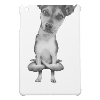 Coque Pour iPad Mini Yogi Doggie cute dog in yoga asana, cool funny