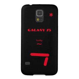 Coque Pour Samsung Galaxy S5 Caisse noire de la galaxie S5 de Samsung 7