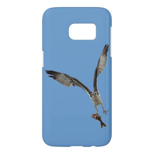 f1eb275bf42a Coque Samsung Galaxy S7 Balbuzard de vol portant un poisson